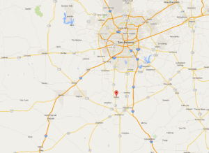 Poteet Map